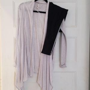 Lululemon cardigan and legging set 4